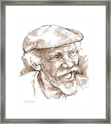 Victor Boa Framed Print by Greg Joens