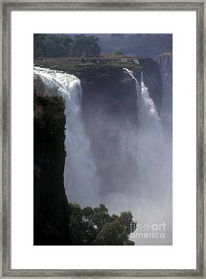 Victoria Falls - Zimbabwe Framed Print by Craig Lovell