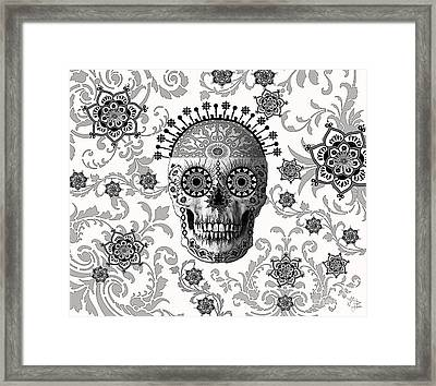 Victorian Bones Framed Print by Christopher Beikmann