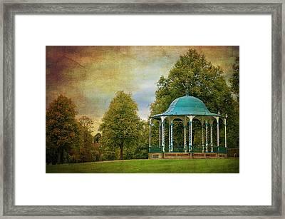 Victorian Entertainment Framed Print by Meirion Matthias