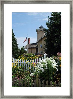 Victorian Gardens At Hereford Framed Print by Skip Willits
