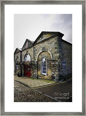 Victorian Indoor Market Framed Print by Stephen Smith
