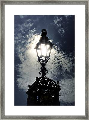 Victorian Lamp Post Framed Print by Joana Kruse