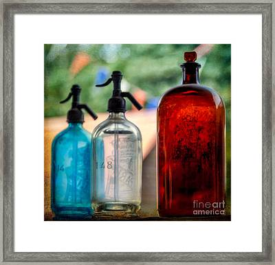 Victorian Soda Syphon Framed Print by Adrian Evans