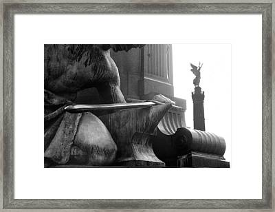 Victory Framed Print by Marc Huebner