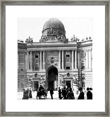 Vienna Austria - Imperial Palace - C 1902 Framed Print by International  Images