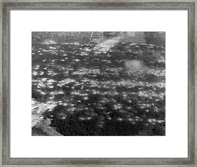 Vietnam moonscape Framed Print by Underwood Archives