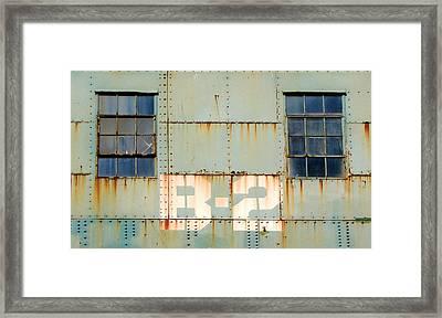 View B-2 Framed Print by Ben Freeman