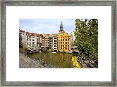 View From Charles Bridge 2 Framed Print by Madeline Ellis