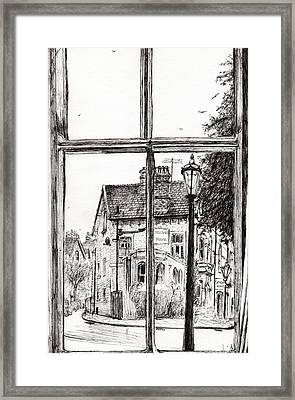 View From Old Hall Hotel Framed Print by Vincent Alexander Booth
