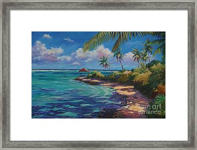 View From Over The Edge Framed Print by John Clark