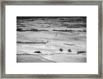 View From Steptoe Framed Print by Jon Glaser