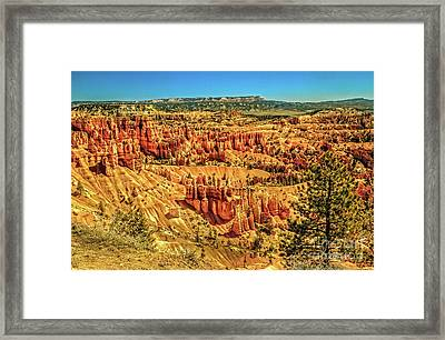 View From Sunset Point Framed Print by Robert Bales