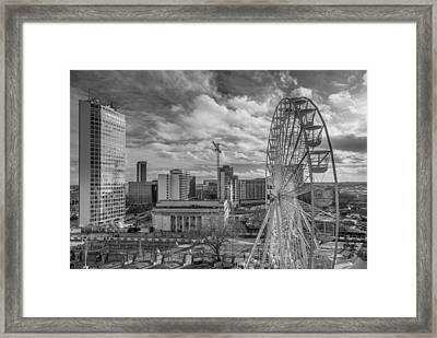 View From The Library Framed Print by Chris Fletcher