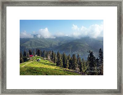 View From Top Framed Print by Svetlana Sewell