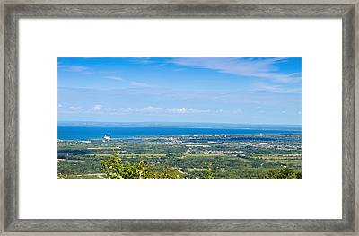 View Of Collingwood From The Top Framed Print by Panoramic Images