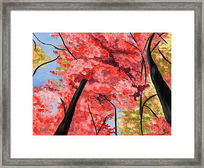 View Of Heaven Framed Print by Susan Odom