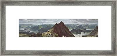View Of Loch Lomond Framed Print by John Knox