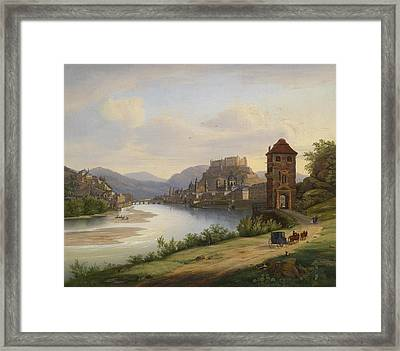 view of Salzburg Framed Print by Jacob Roedler