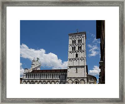 View Of The Chiesa Di San Michele Framed Print by Panoramic Images