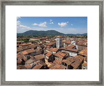 View Of The Chiesa Di San Michele Seen Framed Print by Panoramic Images