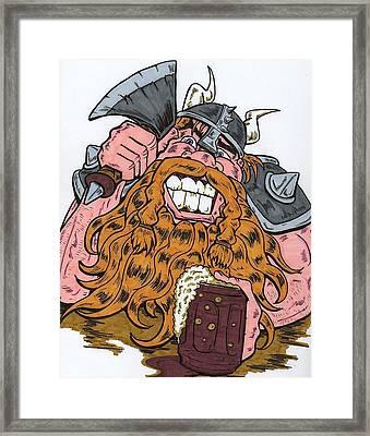 Viking Framed Print by Anthony Snyder