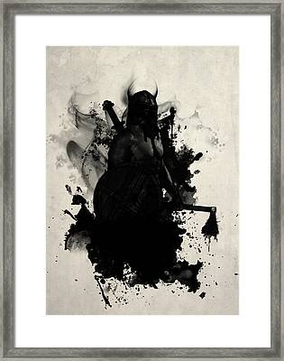 Viking Framed Print by Nicklas Gustafsson