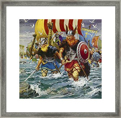 Vikings Framed Print by Jack Keay