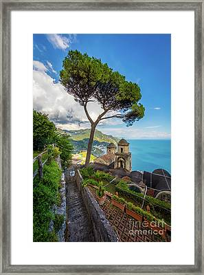 Villa Rufolo Framed Print by Inge Johnsson