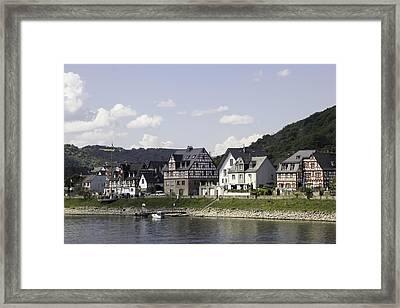 Village Of Spay Germany 05 Framed Print by Teresa Mucha