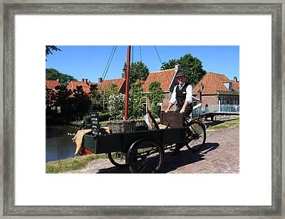 Village Peddler Framed Print by Aidan Moran