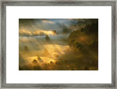 Village Framed Print by Robert Radomski