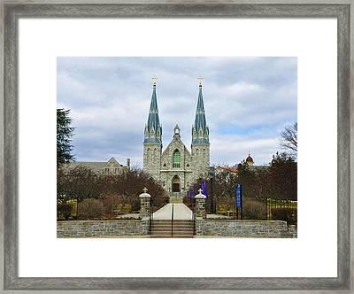 Villanova College Framed Print by Bill Cannon