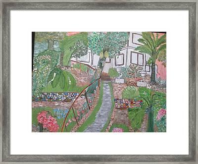 Villaroca Musings Framed Print by Carmela Maglasang