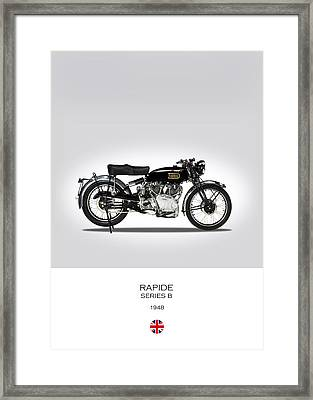 Vincent Hrd Rapide 1948 Framed Print by Mark Rogan