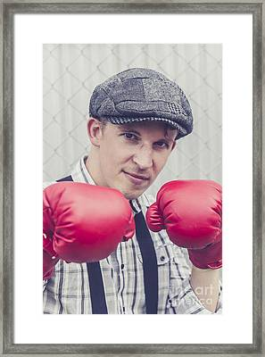 Vintage Boxers Framed Print by Jorgo Photography - Wall Art Gallery