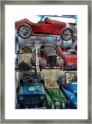 Vintage Cars Framed Print by Martin Newman