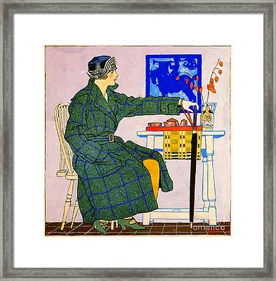 Vintage Clothing Advertisement 1910 Framed Print by Padre Art