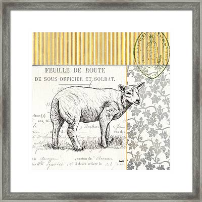Vintage Farm 3 Framed Print by Debbie DeWitt