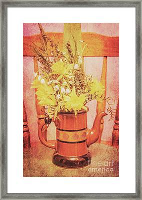 Vintage Fine Art Still Life With Daffodils Framed Print by Jorgo Photography - Wall Art Gallery