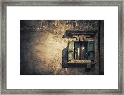 Vintage Frame Framed Print by Chris Fletcher