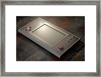 Vintage Game Framed Print by Allan Swart