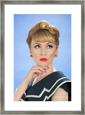 Vintage Glamour Framed Print by Amanda And Christopher Elwell