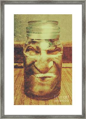 Vintage Halloween Horror Jar Framed Print by Jorgo Photography - Wall Art Gallery