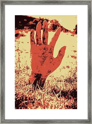 Vintage Horror Poster Art  Framed Print by Jorgo Photography - Wall Art Gallery