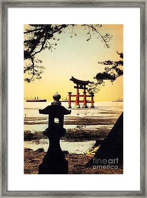 Vintage Japanese Art 23 Framed Print by Hawaiian Legacy Archive - Printscapes