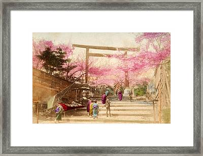 Vintage Japanese Art 25 Framed Print by Hawaiian Legacy Archive - Printscapes