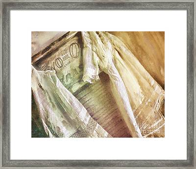 Vintage Laundry Washboard Framed Print by Mindy Sommers