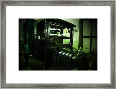 Vintage Model T Framed Print by Jeff Swan