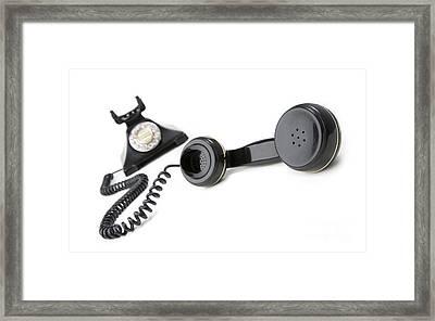 Vintage Phone  Framed Print by Igor Kislev